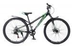 """Велосипед Champion Flex 26"""" 11"""" SUSP черный зеленый"""