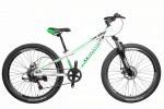 """Велосипед CrossBike Blast SUSP 26"""" 11"""" Зеленый-Черный-Серый"""