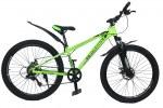 """Велосипед CrossBike Blast SUSP 26"""" 13"""" Неоновый зеленый"""
