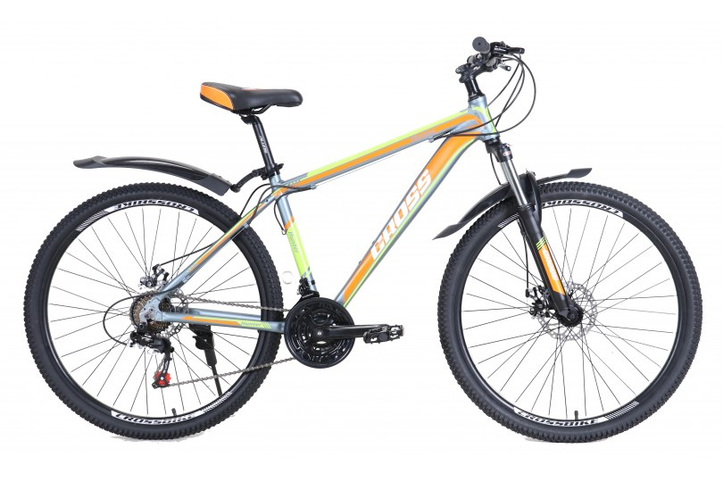 "Велосипед Cross Hunter 24"" 12"" Серый"
