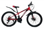"""Велосипед Cross Focus 24"""" 12"""" Красный"""