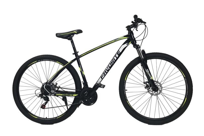 "Велосипед Fovarite Tracker 27.5"" 17"" Черный-Желтый"