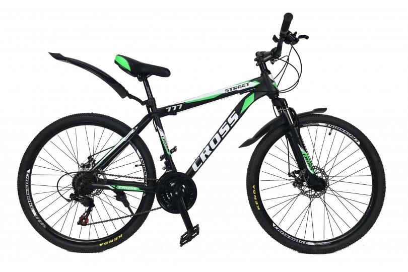 """Велосипед Cross Street 26"""" 17"""" Зеленый"""