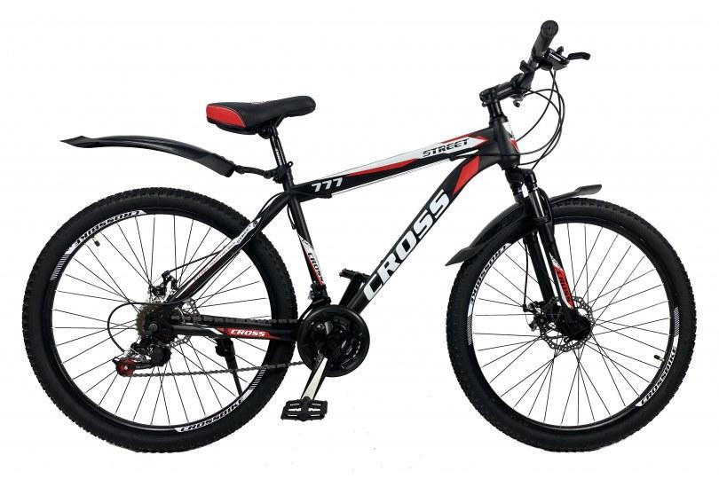 """Велосипед Cross Street 26"""" 17"""" Красный"""