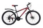"""Велосипед Cross Spider 24"""" 12"""" Черный-Красный"""