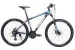 """Велосипед Cross Grizzly 27.5"""" 20"""" Черный-Синий-Белый"""