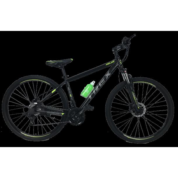 """Велосипед Trex Helux 27,5""""17"""" Чорний-Зелений"""