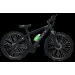 """Велосипед Trex Helux 27,5""""17"""" Чёрный-Зелёный"""