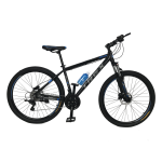 """Велосипед Trex Helux 27,5""""17"""" Чёрный-Голубой"""