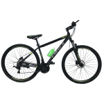 """Велосипед Trex Helux 29""""17"""" Чёрный-Зелёный"""