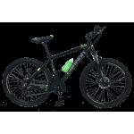 """Велосипед Cannon 26""""17""""  Чёрный-Зелёный"""