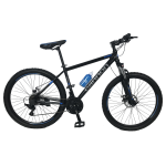 """Велосипед Cannon 27.5""""17""""  Чёрный-Голубой"""