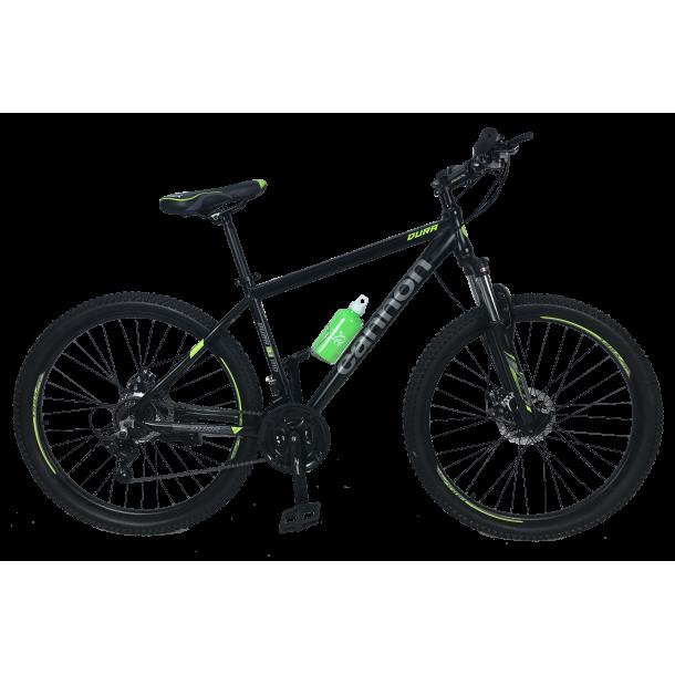 """Велосипед Cannon 27.5""""17""""  Чёрный-Зелёный"""