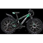 """Велосипед Titan Energy 24""""12"""" Чёрный-Зелёный-Белый"""