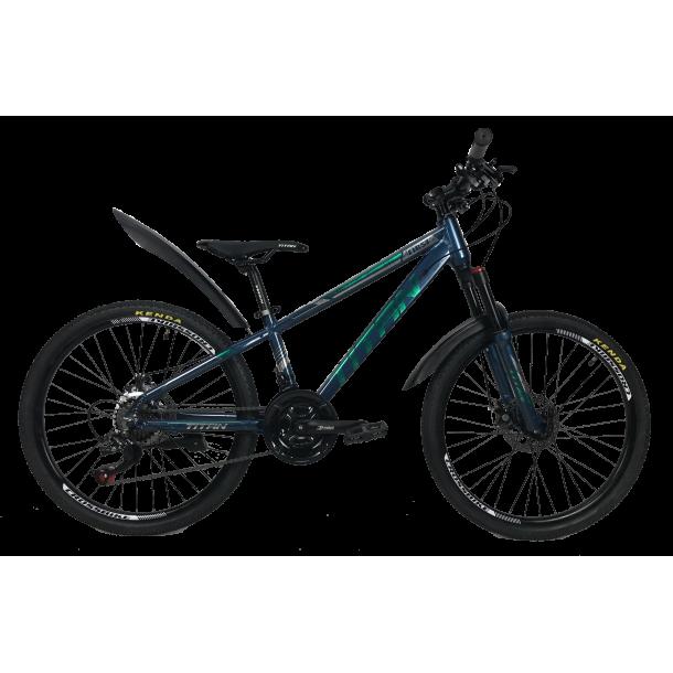 """Велосипед Titan First 24"""" 12"""" Темный синий"""