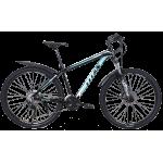 """Велосипед Titan Germes 27.5"""" 17"""" Черный-Бирюзовый"""