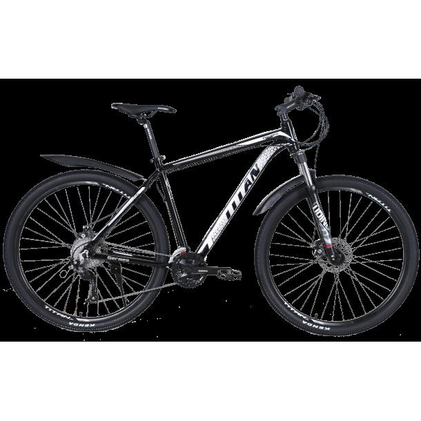 """Велосипед Titan Germes 29"""" 20"""" Черный-Серый"""