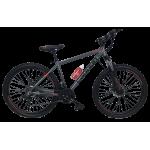 """Велосипед Cannon 27.5""""17""""  Чёрный-Красный"""