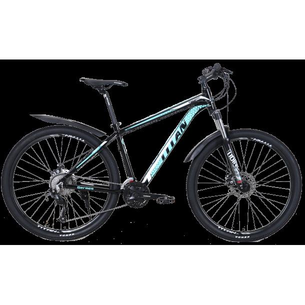 """Велосипед Titan Germes 29"""" 20"""" Черный-Бирюзовый"""