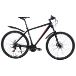 """Велосипед Titan First 27.5""""20"""" Черный-Красный"""