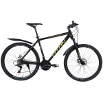"""Велосипед Titan First 27.5""""20"""" Черный-Желтый"""