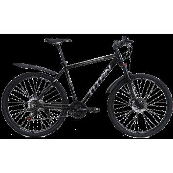 """Велосипед Titan First 27.5""""20"""" Чорний-Сірий"""