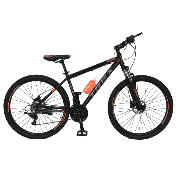 """Велосипед Trex Helux 27,5""""17"""" Чёрный-Оранжевый"""