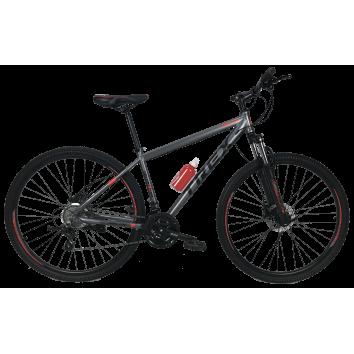 """Велосипед Trex Helux 27,5""""17"""" Чорний-Червоний"""