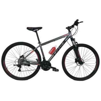 """Велосипед Trex Helux 27,5""""17"""" Чёрный-Красный"""