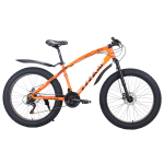 """Велосипед Titan Jaguar 2021 alloy 26"""" 16"""" Неоновый оранжевый"""