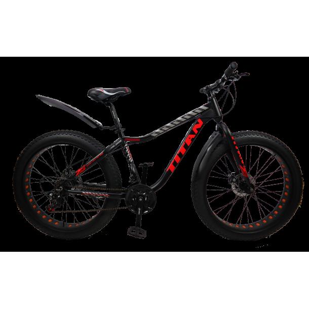"""Велосипед Titan Crossover 26"""" 17"""" Неоновый желтый-черный"""