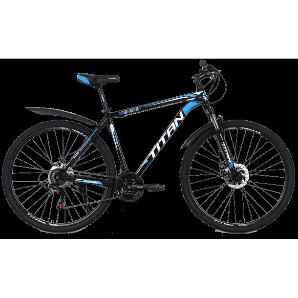 """Велосипед Titan Energy 27.5""""17"""" Черный-Красный-Белый"""
