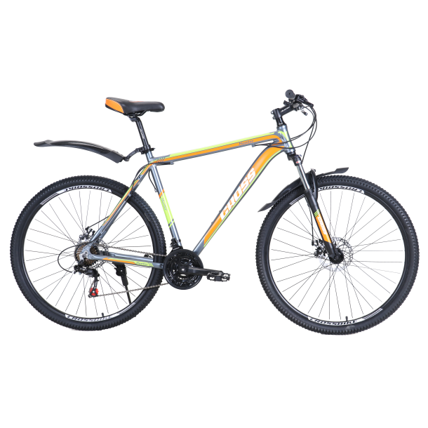"Велосипед Cross Hunter 27.5"" 20"" Серый"