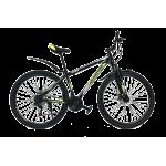 """Велосипед Champion Spark 26""""13"""" Черный-Неоновый желтый-Белый"""