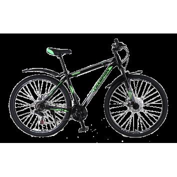"""Велосипед Champion Spark 29""""17"""" Черный-Зеленый-Белый"""