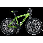 """Велосипед CrossBike Leader 27.5"""" 19"""" Неоновый зеленый"""