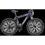 """Велосипед CrossBike Leader 27.5"""" 17"""" Черный-Синий-Белый"""