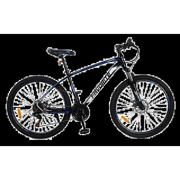 "Велосипед Fovarite Tracker 29"" 19,5"" Черный-Синий"