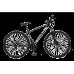 "Велосипед Fovarite Tracker 29"" 19,5"" Черный-Зеленый"