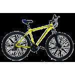 """Велосипед CrossBike Leader 27.5"""" 19"""" Неоновый желтый"""
