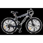 "Велосипед Fovarite Tracker 26"" 17"" Черный-Синий"