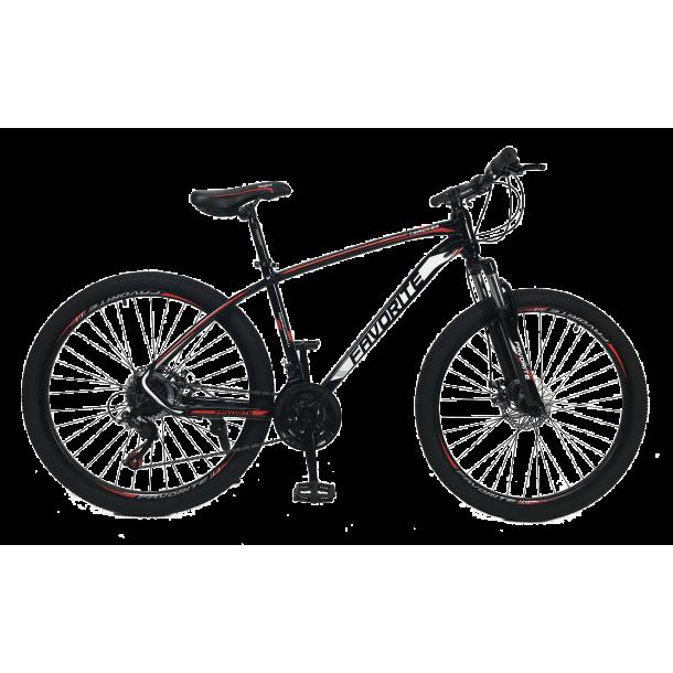 """Велосипед Fovarite Tracker 26"""" 17"""" Черный-Красный"""