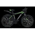 """Велосипед Cross Street 29"""" 20"""" Черный-Зеленый"""