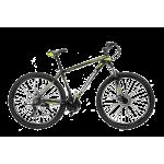 "Велосипед CrossBike Leader 29"" 19"" Черный-Желтый"