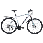 "Велосипед Titan Drag 27,5"" 17,5"" Серый-Бирюза"