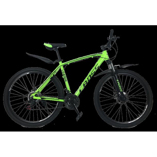 """Велосипед Cross Leader V2 29"""" 21"""" Неоновый Зеленый"""