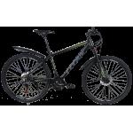 """Велосипед Titan Drag 27,5"""" 17,5"""" Черный-Зеленый"""