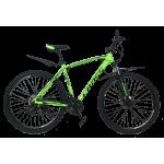 """Велосипед Cross Leader V2 29"""" 19"""" Неоновый Зеленый"""