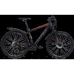 """Велосипед Titan Drag 27,5"""" 17,5"""" Черный-Неоновый оранжевый"""