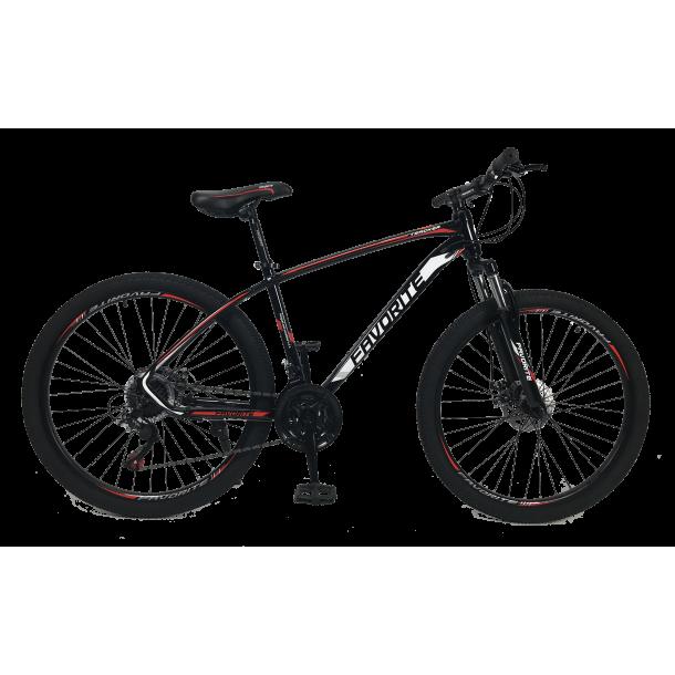 """Велосипед Fovarite Tracker 29"""" 19,5"""" Черный-Красный"""